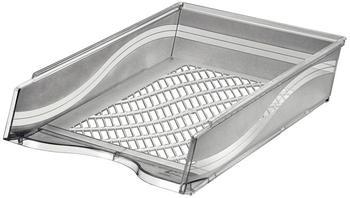 BENE Briefkorb grau-transparent