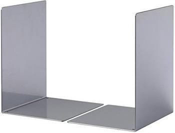 DURABLE Buchstütze L metallic silber