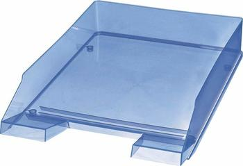 Helit Briefablage A4 blau transparent