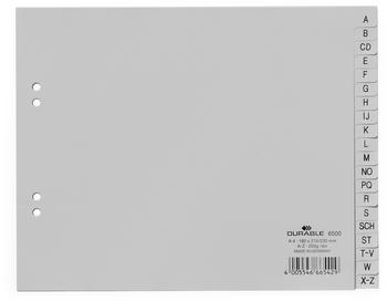 DURABLE A-Z grau 20-teilig 6500-10