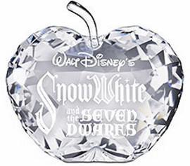 Swarovski Schneewittchen und die sieben Zwerge Namensschild