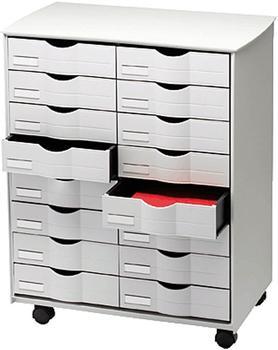 Paperflow Schubladen-Rollwagen (DT162.02) 16 Schübe