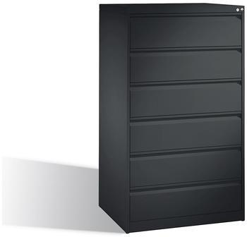 CP Möbelsysteme C 2000 Acurado Karteischrank 3-bahnig (6 Schübe) DIN A5