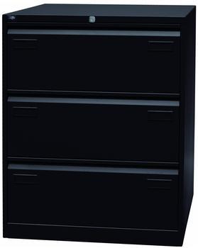 Bisley Hängeregistraturschrank Light CDF 3 schwarz