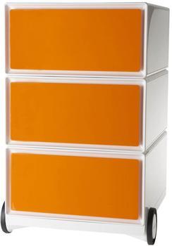 Paperflow Rollcontainer easyBox weiß/orange
