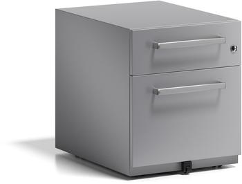 Bisley Rollcontainer Note mit Griff (NWH59M7SF355) silber