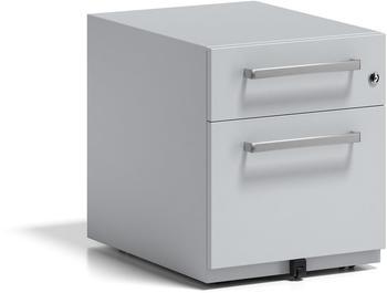 Bisley Rollcontainer Note mit Griff (NWH59M7SF645) lichtgrau
