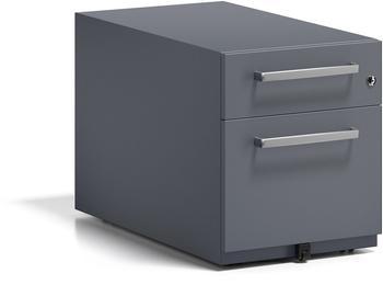 Bisley Rollcontainer Note mit Griff (NWH79M7SF634) anthrazitgrau