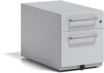 Bisley Rollcontainer Note mit Griff (NWH79M7SF645) lichtgrau