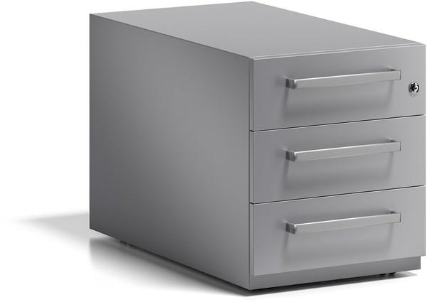 Bisley Rollcontainer Note mit Griff (NWH79M7SSS355) silber