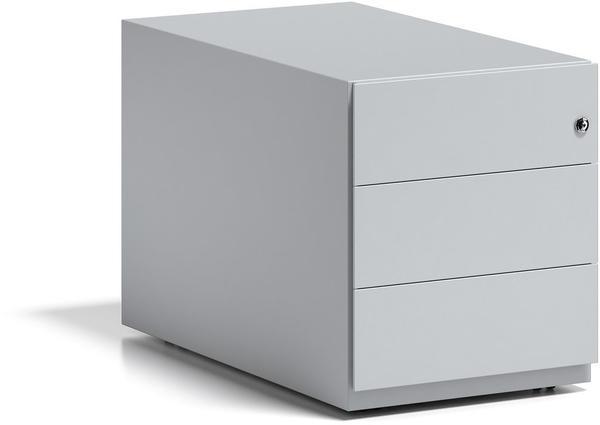 Bisley Rollcontainer Note mit Griffleiste (NWA79M7SSS645) lichtgrau