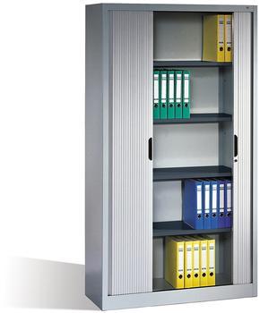 CP Möbelsysteme Aktenschrank Omnispace 100x198x42cm lichtgrau