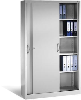 CP Möbelsysteme Aktenschrank Serie 2000 120x195x40cm lichtgrau