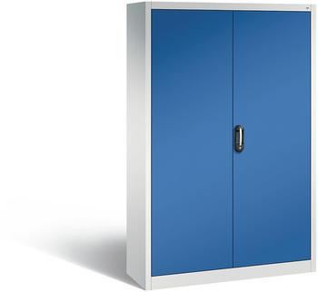 CP Möbelsysteme Aktenschrank Serie 900 120x195x40cm blau/lichtgrau