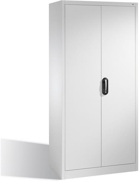 CP Möbelsysteme Aktenschrank Serie 900 93x195x40cm lichtgrau