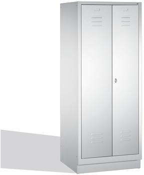 CP Möbelsysteme Mehrzweckschrank S 2000 81x180x50cm lichtgrau