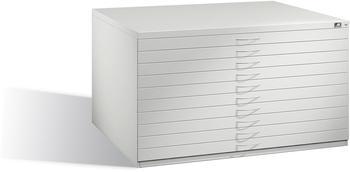 CP Möbelsysteme Planschrank 7201-000 DIN A0 135x76x96cm lichtgrau