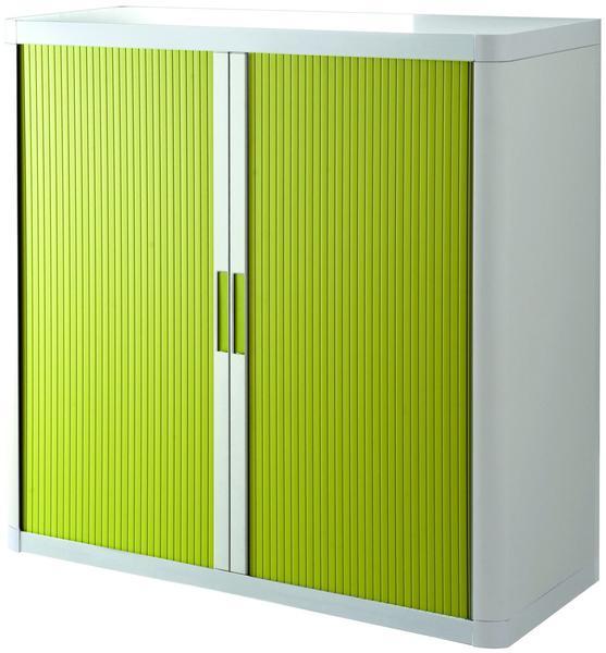 Paperflow easy Office Aktenschrank 110x104x41,5cm weiß/grün