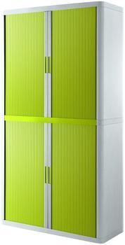 Paperflow easy Office Aktenschrank 110x204x41,5cm weiß/grün