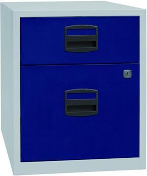Bisley Schubladenschrank (PFAM1S1F) blau/grau
