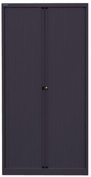 Bisley Rollladenschrank (ET410194S) schwarz