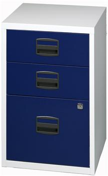 Bisley Schubladenschrank PFA3 blau/grau