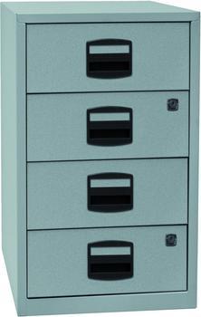 Bisley Schubladenschrank (PFA4S) silber