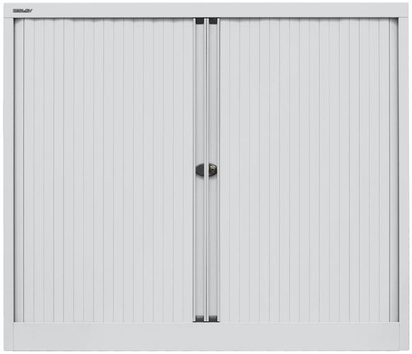Bisley Rollladenschrank (ET412102S) lichtgrau