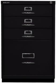 Bisley Schubladenschrank Serie F (050A) schwarz