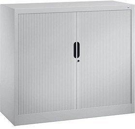 CP Möbelsysteme Omnispace mit Rollladen 2OH Weißaluminium (3243-00 S10111)