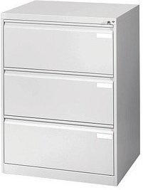 CP Möbelsysteme Acurado 3 Schubladen (12923-312) hellgrau