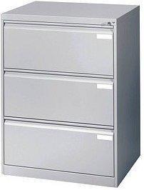 CP Möbelsysteme Acurado 3 Schubladen (12923-312) silber