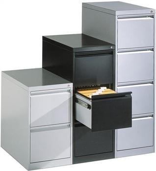 CP Möbelsysteme Acurado 4 Schubladen (12434-311) silber