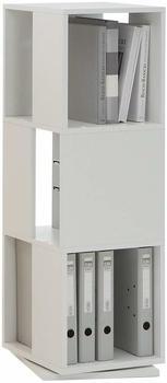 FMD Aktenregal Tower weiß