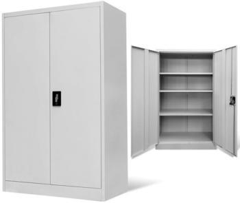 vidaXL Office Storage 90 x 40 x 140 cm Grey