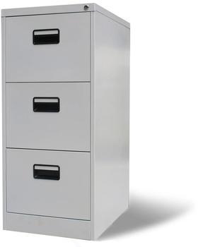 vidaXL Storage 3 Drawers 102 x 45 x 62 cm