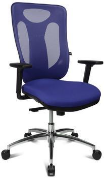 Topstar Sitness Net Pro 100 mit Armlehnen blau