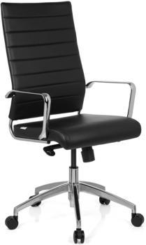 HJH Office Pontera Pro Kunstleder schwarz