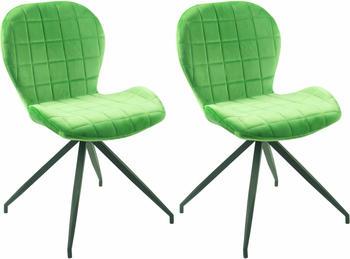 SIT SIT&CHAIRS Stuhl 2er-Set 2431 hellgrün/schwarz