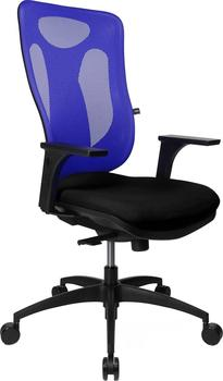 TOPSTAR Net Pro 100 mit Armlehnen schwarzblau