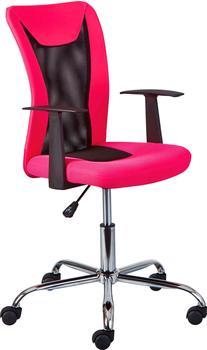 interlink-drehstuhl-sassi-pink-schwarz