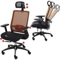 MCW Schreibtischstuhl MCW-A20 orange