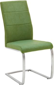 MCA Furniture Freischwinger Flores grün MCA FB5419KI (BHT 44x100x64 cm) MCA