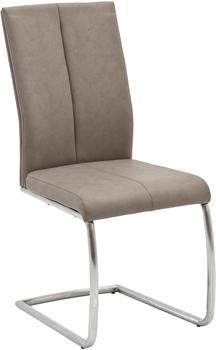 MCA Furniture Freischwinger Flores braun MCA FC5219TA (BHT 44x100x63 cm) MCA