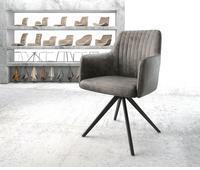 delife-drehstuhl-greg-flex-kreuzgestell-kantig-schwarz-vintage-grau