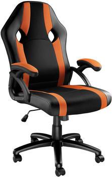TecTake Goodman schwarz/orange