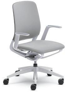 Sedus se:motion mit Armlehnen Sitz-/Rückenpolster lichtgrau