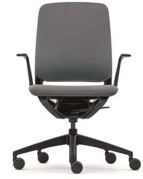 Sedus se:motion mit Armlehnen Sitz-/Rückenpolster grau