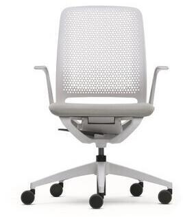 Sedus se:motion mit Armlehnen Sitzpolster lichtgrau
