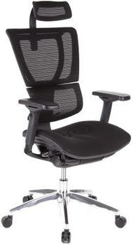 HJH Office Ergohuman Slim schwarz/weiß